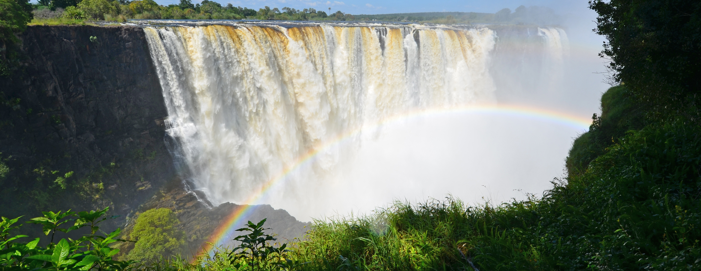 The Victoria Falls (ZImbabwe)