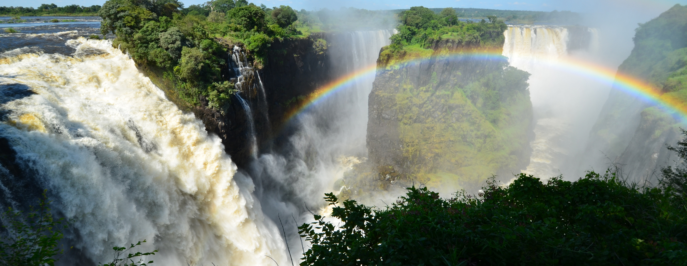The Devils Cataract - Victoria Falls